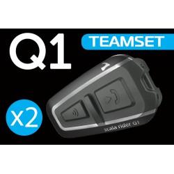 Intercomunicador CARDO Q1 Team Set