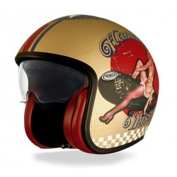 Casco PREMIER VINTAGE PIN UP GOLD BM
