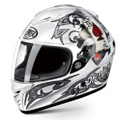Casco PREMIER DRAGON EVO J8 PITT BLANCO