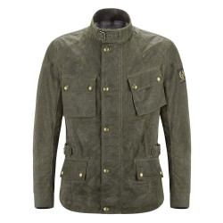 Chaqueta BELSTAFF CROSBY SOY WAX BRITISH RACING GREEN
