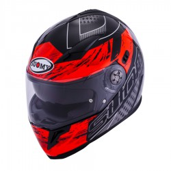 Casco SUOMY HALO DRIFT Rojo