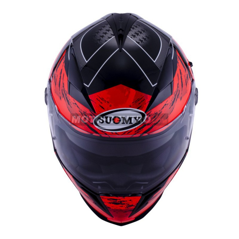 Casco Suomy Halo Drift Rojo Moto Centro