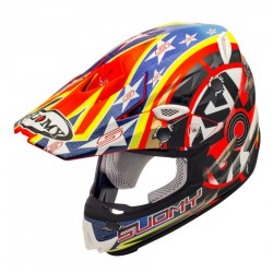 Casco SUOMY MR. JUMP SHOTS ORANGE