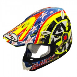 Casco SUOMY MR. JUMP SHOTS YELLOW