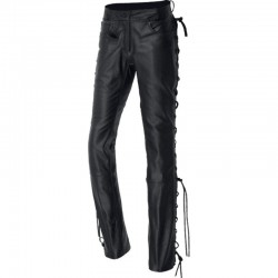 Pantalon piel custom IXS String 3 lady