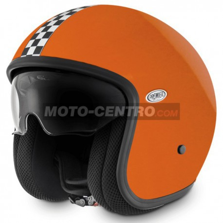 Casco PREMIER VINTAGE CK ORANGE