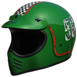Casco retro PREMIER MX FL 6