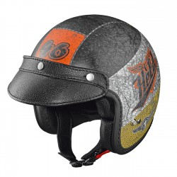 Casco HELD BLACK BOB CRUSHED