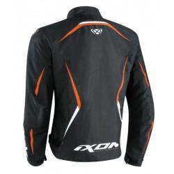 Chaqueta racing IXON SPRINTER Negro naranja