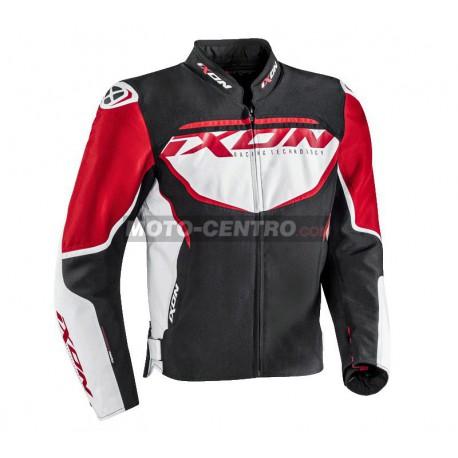 Chaqueta sport IXON SPRINTER Negro blanco rojo