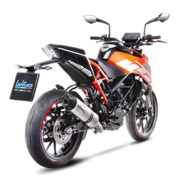 Escape LEOVINCE LV ONE EVO acero inox KTM DUKE 125