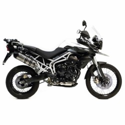 Escape LV ONE EVO INOX TRIUMPH TIGER 800