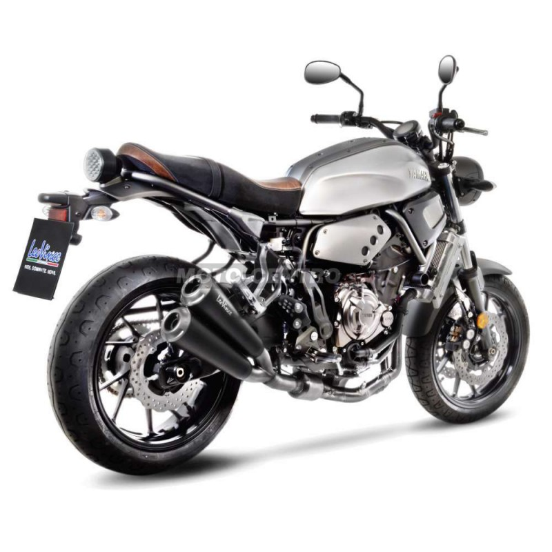 escape leovince gp duals yamaha xsr 700 moto centro. Black Bedroom Furniture Sets. Home Design Ideas