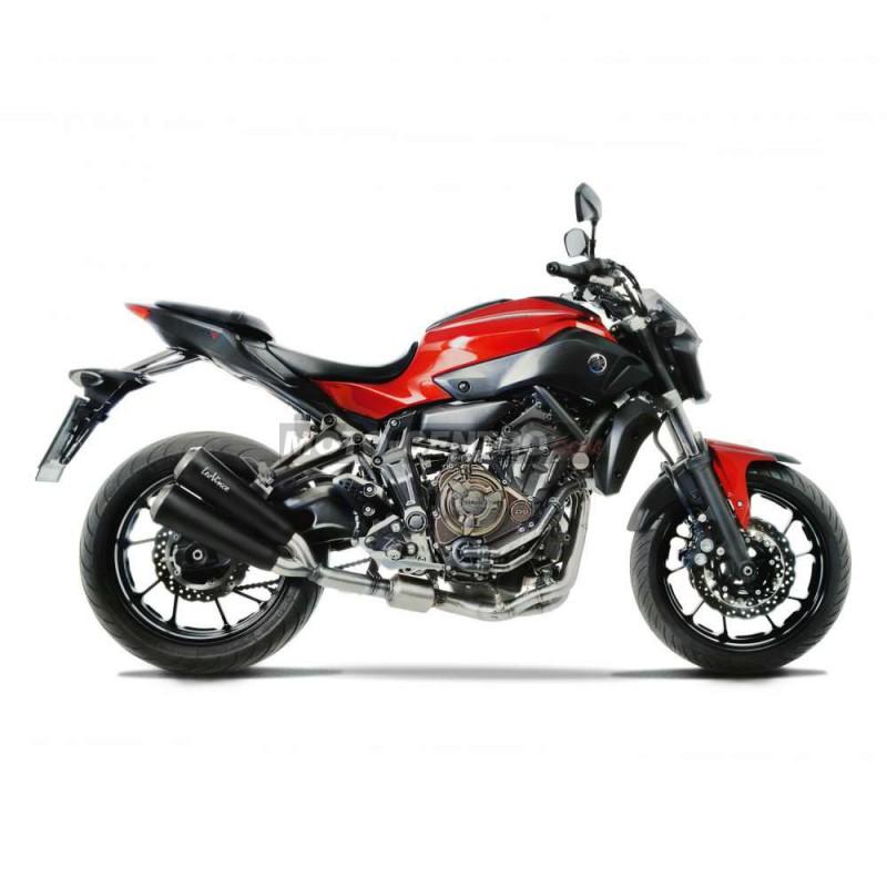 escape completo yamaha mt 07 leovince gp duals moto centro. Black Bedroom Furniture Sets. Home Design Ideas
