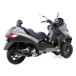 Escape PIAGGIO MP3 400 500 LEOVINCE GRANTURISMO BLACK EDITION