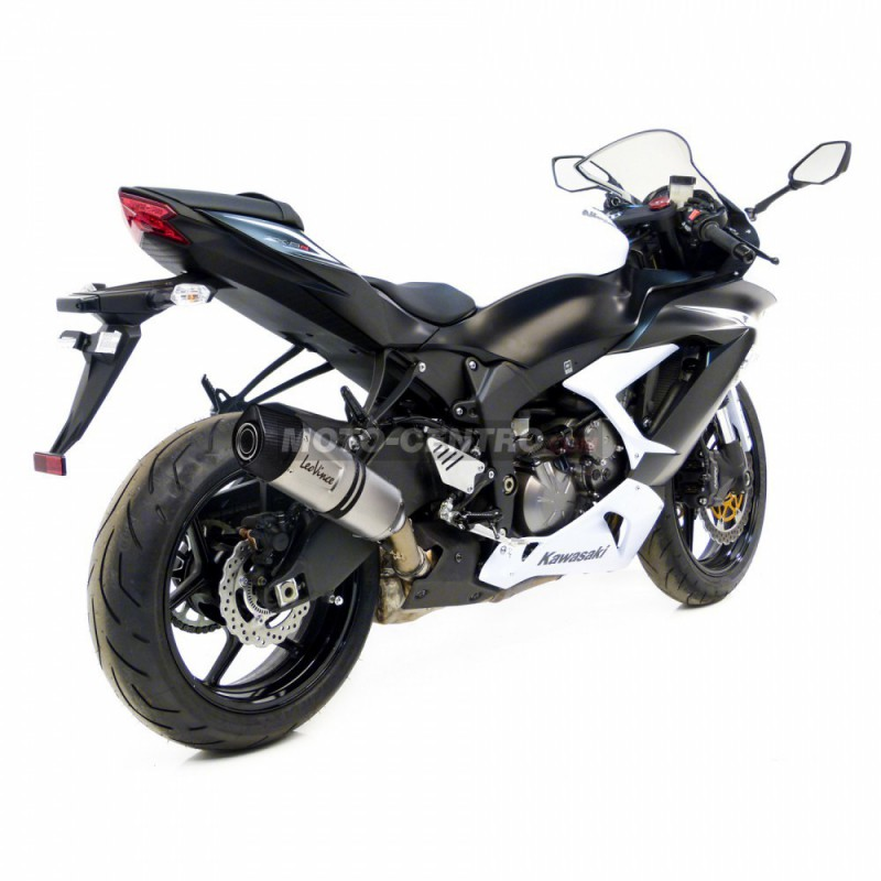 silenciador leovince lv one evo kawasaki zx6r ninja moto. Black Bedroom Furniture Sets. Home Design Ideas