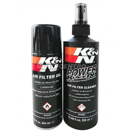 Kit mantenimiento limpieza filtros aire KyN