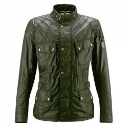 Chaqueta BELSTAFF CROSBY BRITISH RACING GREEN