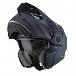 Casco CABERG TOURMAX Mate GUN METAL
