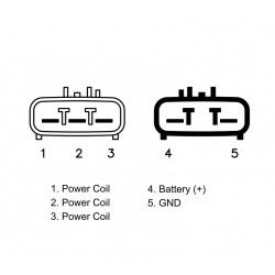Regulador rectificador MOSFET