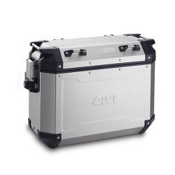 Maleta lateral GIVI TREKKER OUTBACK 37 Lts. Aluminio