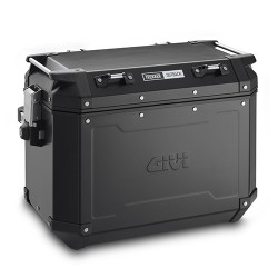 Nueva maleta lateral GIVI Aluminio negro TREKKER OUTBACK 48 Lts.