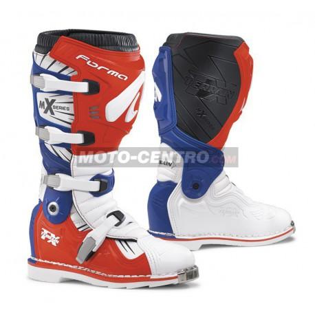 Botas FORMA TERRAIN TX blanco-rojo-azul