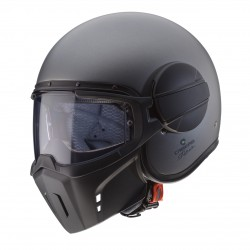 Casco CABERG GHOST Gris Mate