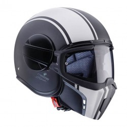 Casco CABERG GHOST LEGEND Negro Mate Blanco
