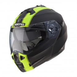 Casco CABERG DUKE 2 LEGEND Negro Mate /Amarillo