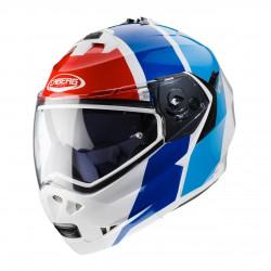 Casco CABERG DUKE 2 IMPACT bco/azul/rojo