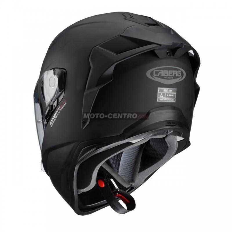 995cce729f95c Casco CABERG DRIFT EVO Negro mate - Moto Centro