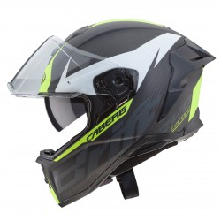 Casco CABERG DRIFT EVO CARBON Amarillo fluo