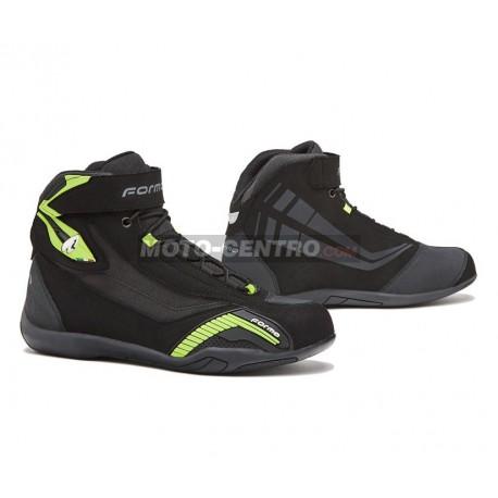 Zapatillas moto FORMA GENESIS Negro amarillo