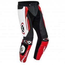 Pantalon cuero IXON VORTEX 2 Negro blanco rojo