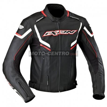 Chaqueta roadster IXON STUNTER Negro blanco rojo