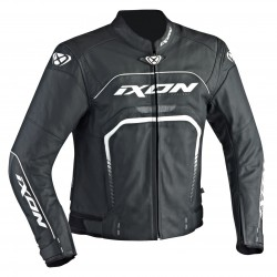 Chaqueta IXON FIGHTER Negro blanco