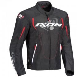 Chaqueta textil IXON COBRA Negro rojo