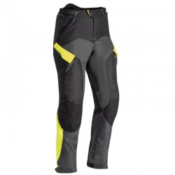 Pantalones IXON CROSSTOUR 2 PT Negro gris amarillo