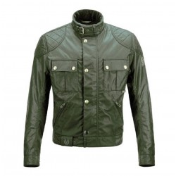 Chaqueta BELSTAFF BROOKLANDS British racing green